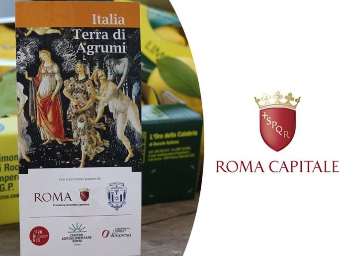 Eventi presso i mercati rionali e l'Aranciera di San Sisto per la promozione degli agrumi italiani